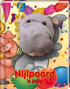 Nijlpaard is jarig (handpopboek)
