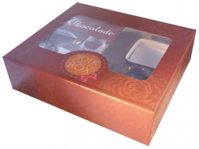 Chocolade Boek-Cadeaubox
