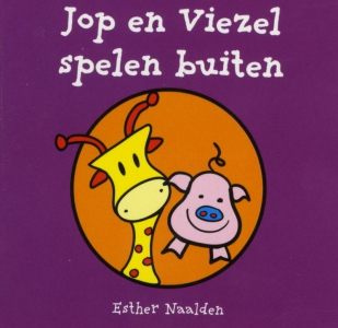 Jop en Viezel spelen buiten (a 10 ex.)