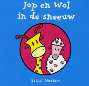 Jop en Wol in de sneeuw (a 10 ex.)
