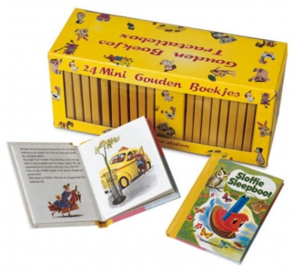 gouden boekjes traktatiebox