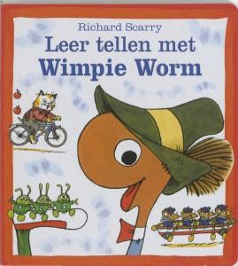 Leer tellen met Wimpie Worm