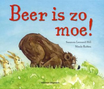 Beer is zo moe