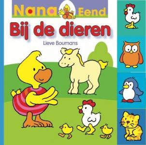 Nana eend bij de dieren