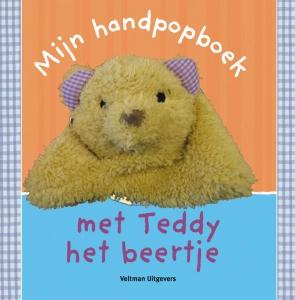 Mijn handpopboek met Teddy het beertje