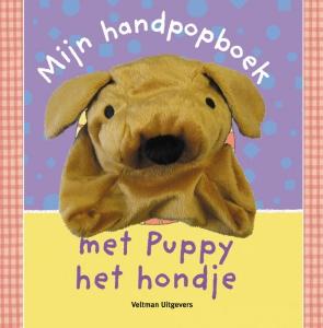 Mijn handpopboek met Puppy het hondje