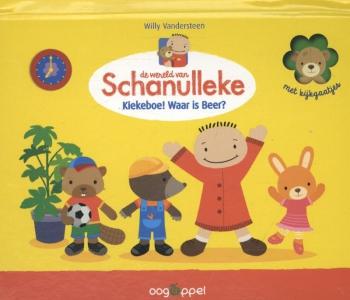 Het kiekeboe-koffertje van Schanulleke