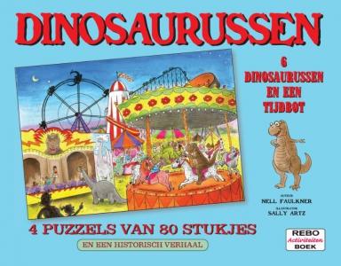 Puzzelboek Dino