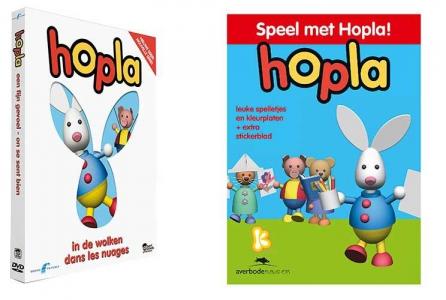 Speel met Hopla + DVD Hopla in de wolken