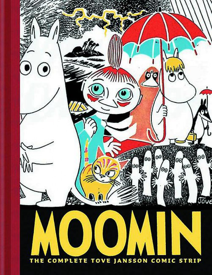Moomin The Complete Tove Jannson Comic Strip 01