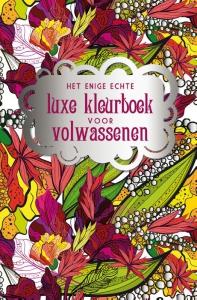 Het enige echte luxe kleurboek voor volwassenen