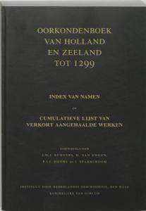 Oorkondenboek van Holland en Zeeland tot 1299