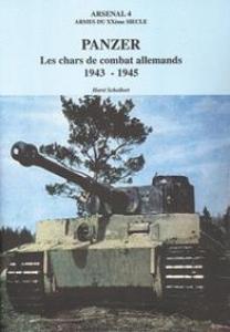 Panzer. Les chars de combat allemands 1943-1945 (AXX 4)