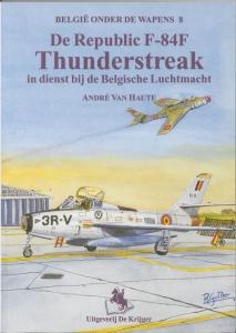 De Thunderflash in dienst bij de Belgische luchtmacht