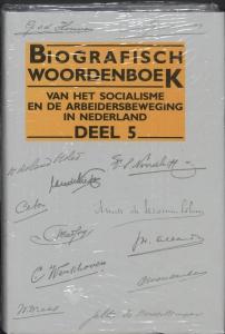 Biografisch woordenboek social. arbeidersb. 5