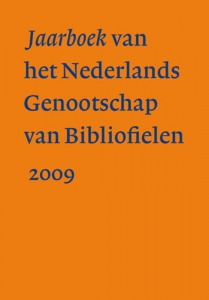 Jaarboek van Nederlands Genootschap van Bibliofielen     2009