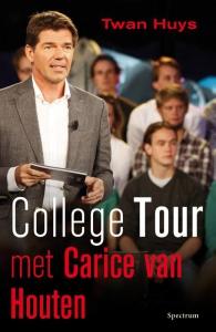 College tour met Carice van Houten