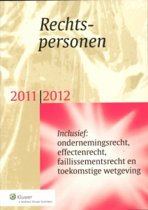 Rechtspersonen  2011-2012