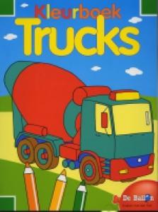 Kleurboek trucks