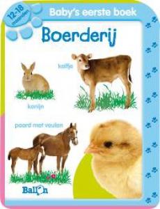 Allereerste Stapjes Baby's eerste boek Boerderij 12-18 maanden (BW 413527)