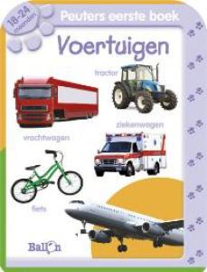 Allereerste Stapjes Peuters eerste boek Voertuigen 18-24 maanden