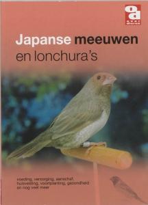 Japanse meeuwen en lonchura's