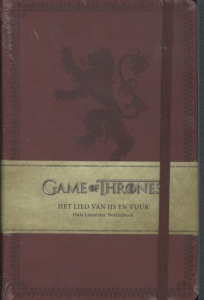 Game of Thrones Notitieboek - Huis Lannister