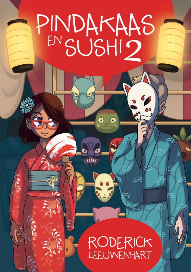 Pindakaas en Sushi 2 cover