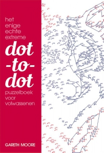 Het enige echte extreme dot-to-dot puzzelboek voor volwassenen