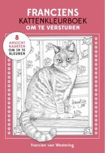 Franciens kattenkleurboek om te versturen