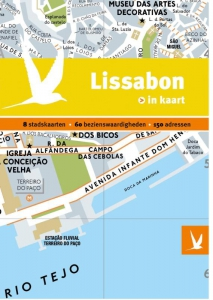 Lissabon in kaart