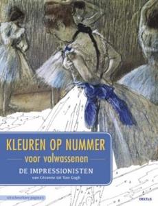 Kleuren op nummer voor volwassenen - De impressionisten