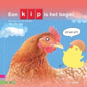 Een kip is het begin