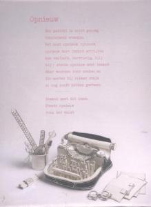 10 poëziekaarten plint Kees Spiering