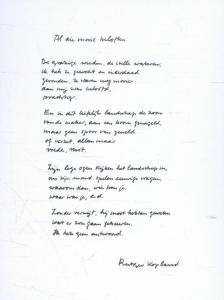 10 poëziekaarten Plint Rutger Kopland