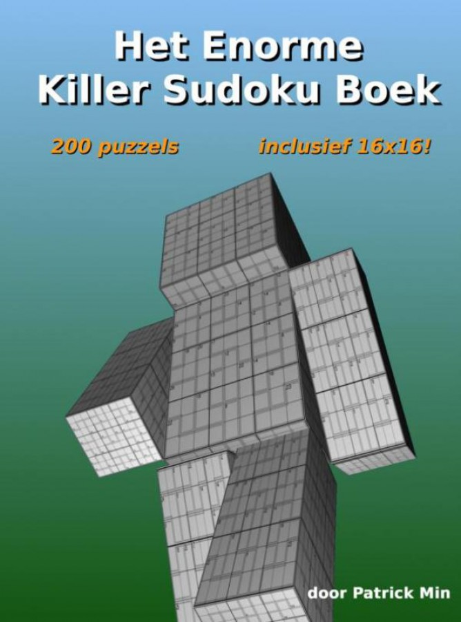Het enorme killer sudoku boek