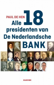Alle 19 presidenten van De Nederlandsche Bank