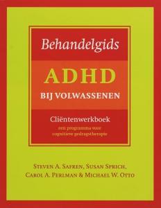 Behandelgids ADHD bij volwassenen, clientenwerkboek