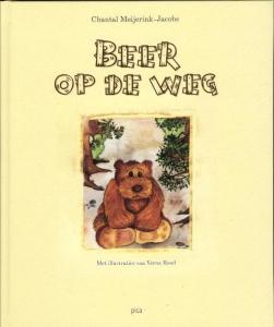 Beer op de weg
