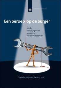 Een beroep op de burger Sociaal en cultureel rapport 2012