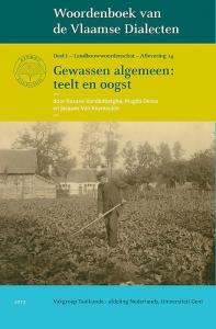Woordenboek van de Vlaamse Dialecten, Deel I Landbouwwoordenschat