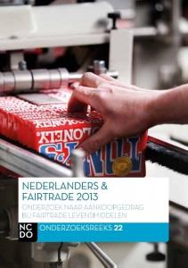 Nederlanders en fairtrade  2013