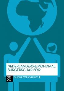 Nederlanders en mondiaal burgerschap  2012
