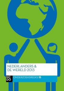 Nederlanders en de wereld 2013