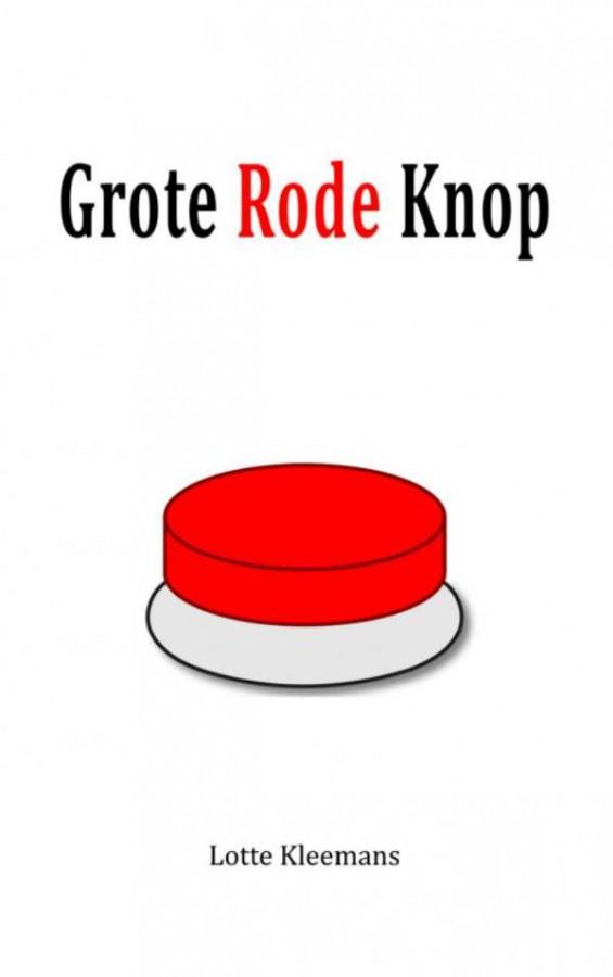 Grote rode knop