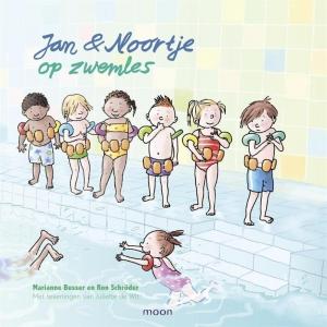 Jan Noortje op zwemles