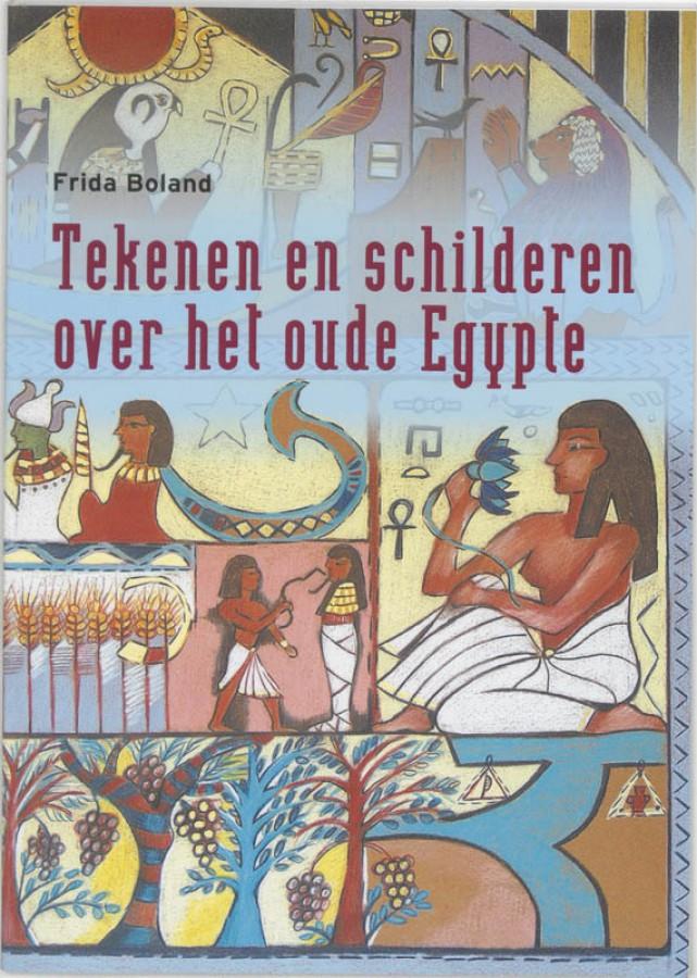 Tekenen en schilderen over het oude egypte