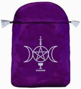 Tarot buidel Wicca satijn