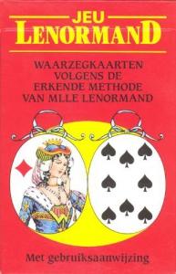 Lenormand waarzegkaarten originele uitvoering