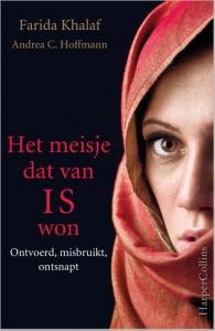 de cover van het boek, het meisje dat van IS won.